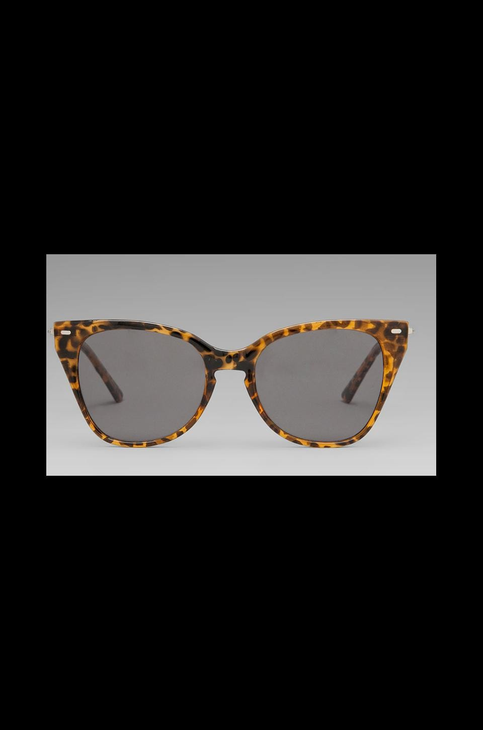 Cheap Monday Feline in Amber Turtle/Silver