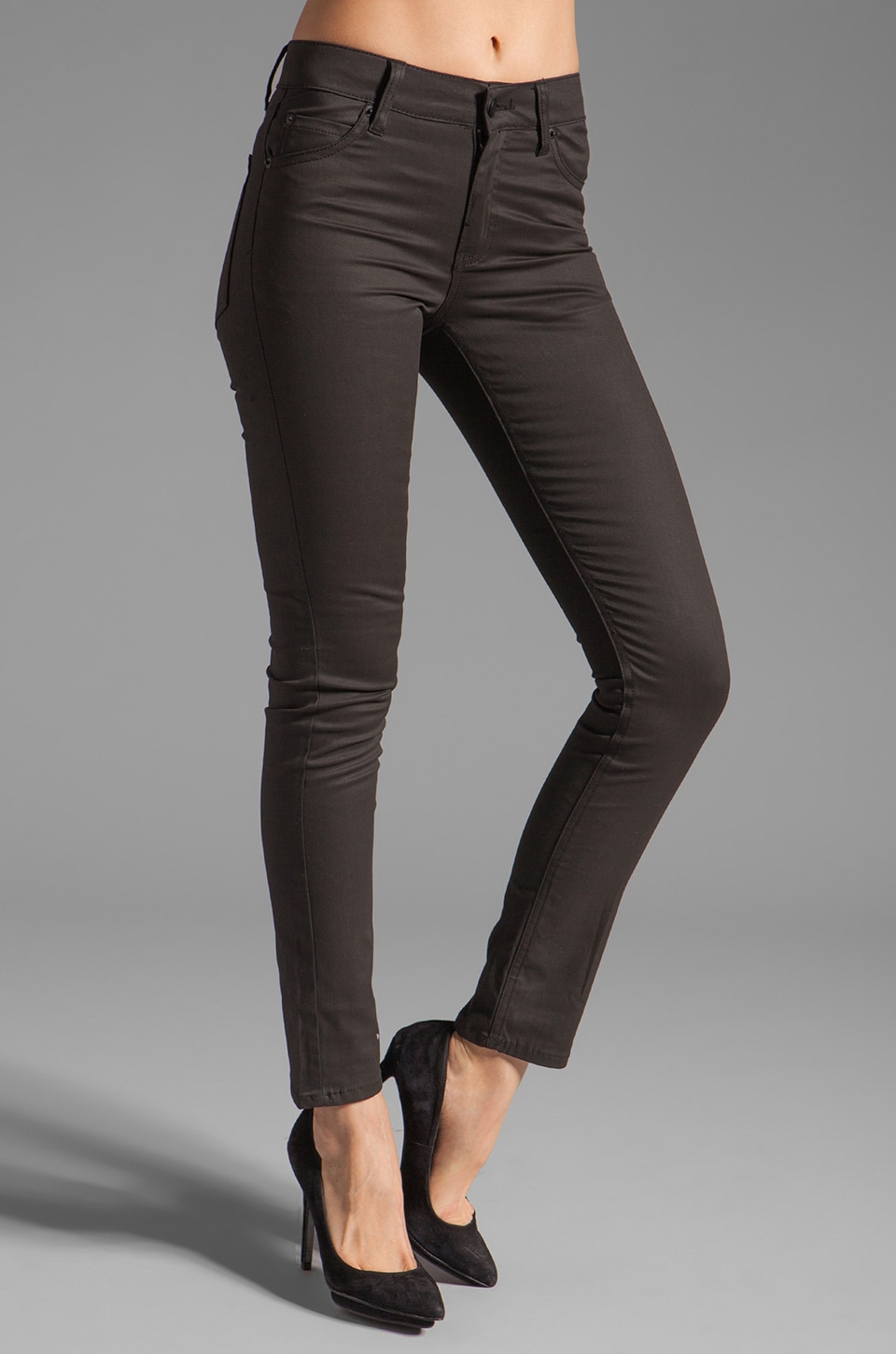 Cheap Monday Tight Jeans in Hard Coated