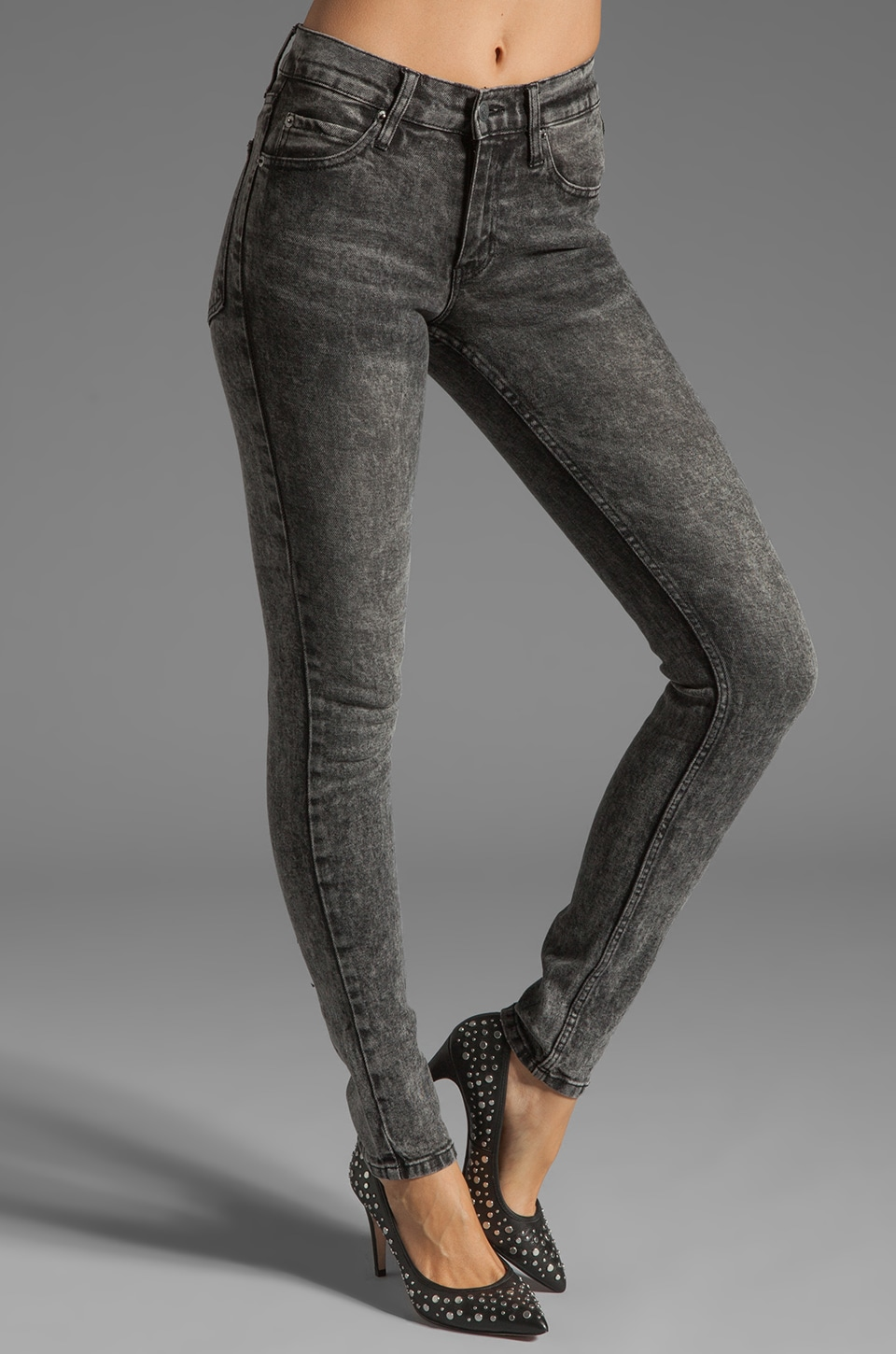 Cheap Monday Tight in Skin Used Black