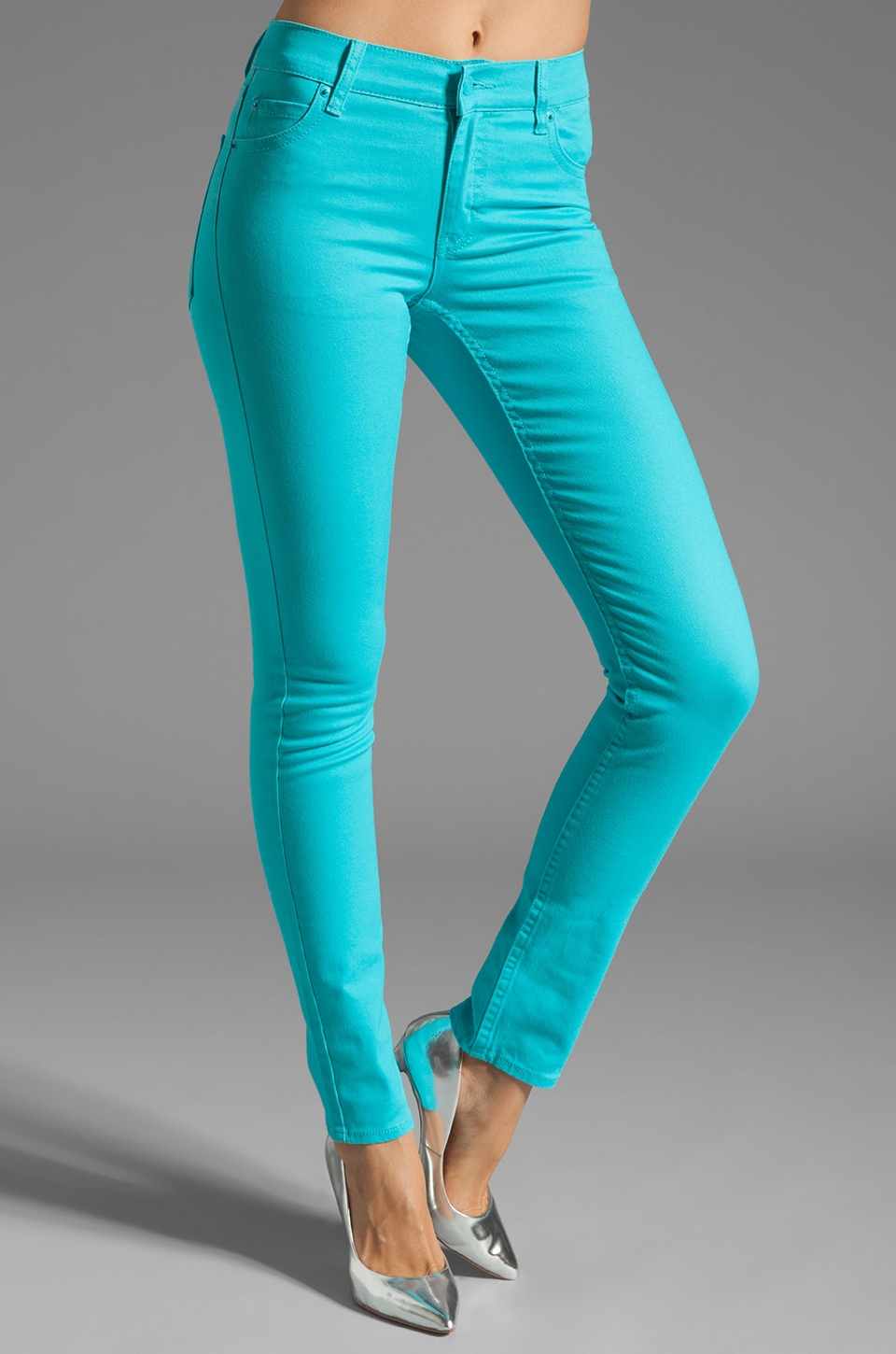 Cheap Monday Tight in Riviera Turquoise