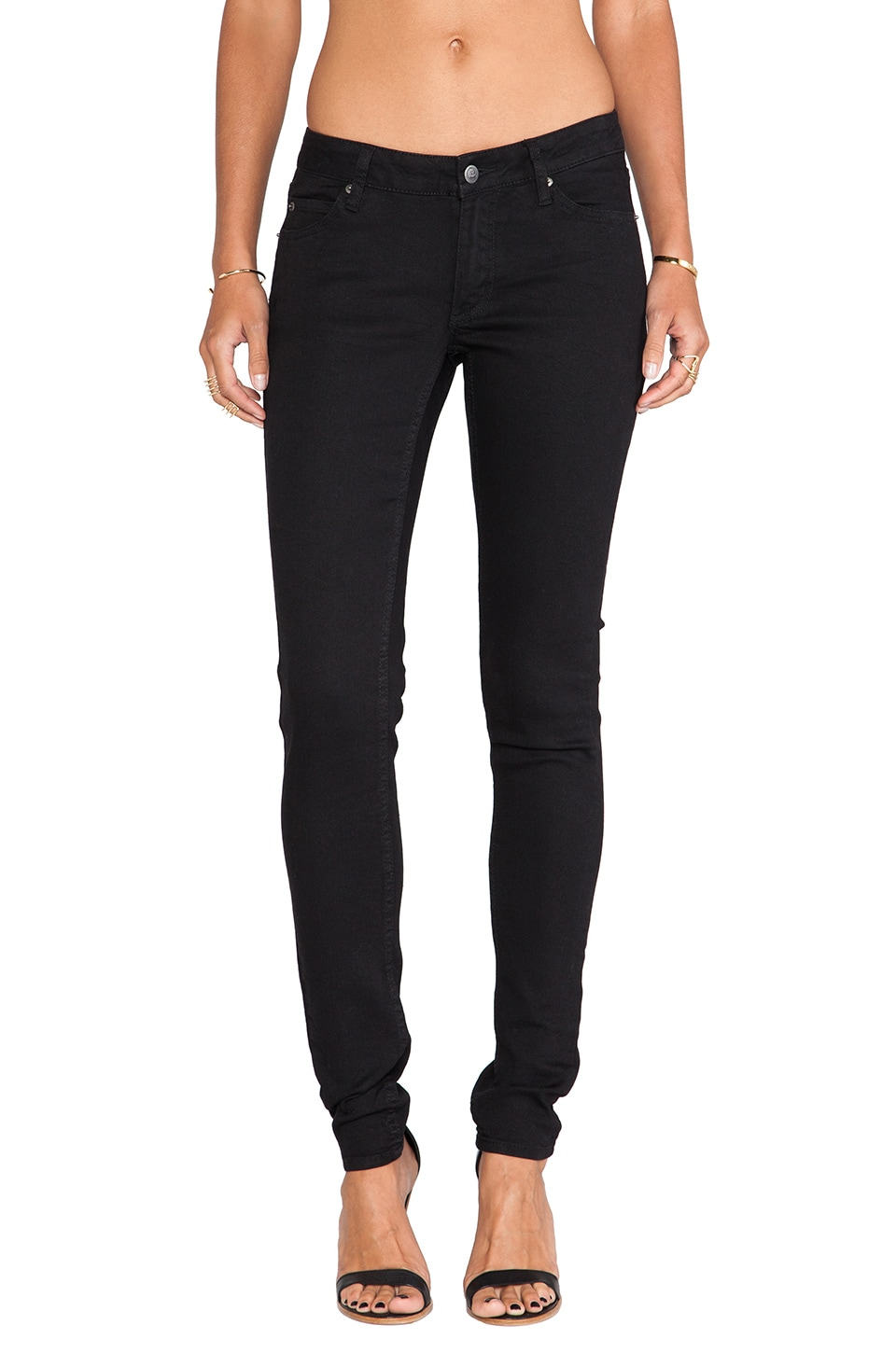 Cheap Monday Slim in Pitch Black