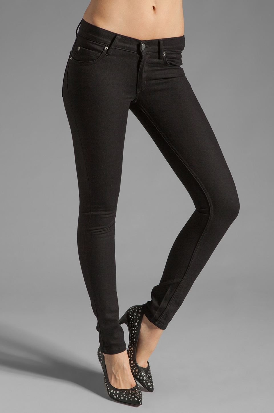 Cheap Monday Zip Low in Very Nice Black
