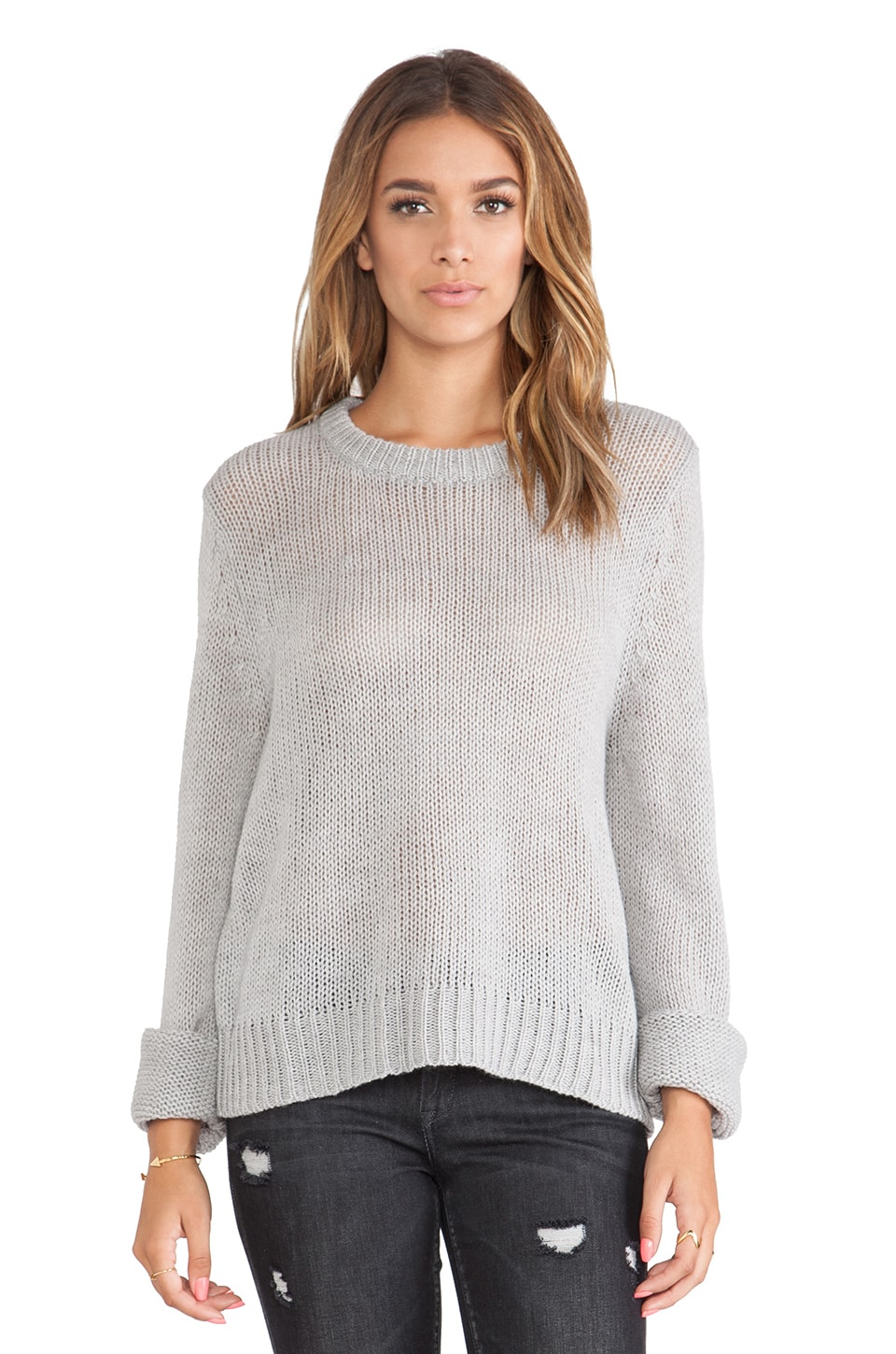 Cheap Monday What Knit Sweater in Grey Melange