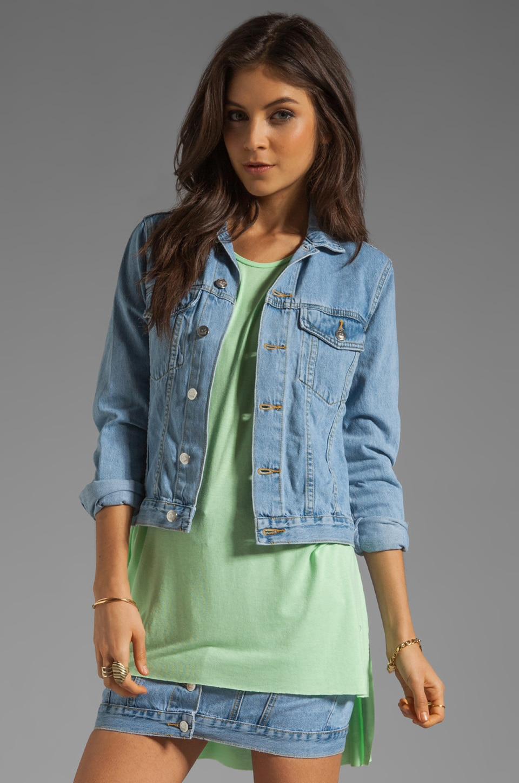 Cheap Monday Tess Jeans Jacket in Light Trash