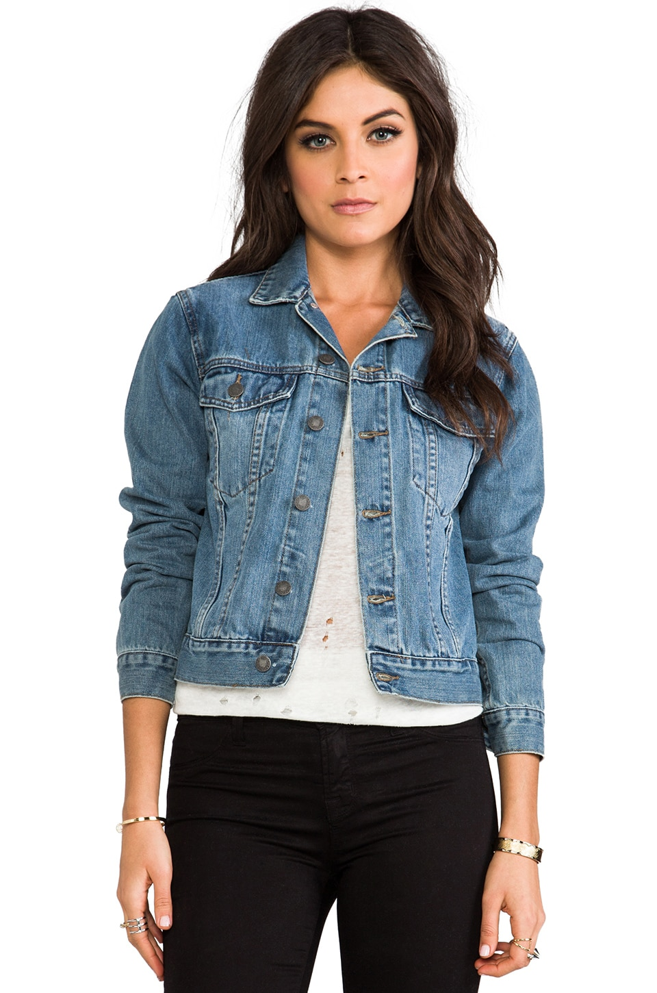 Cheap Monday Vital Denim Jacket in Heavy Work | REVOLVE