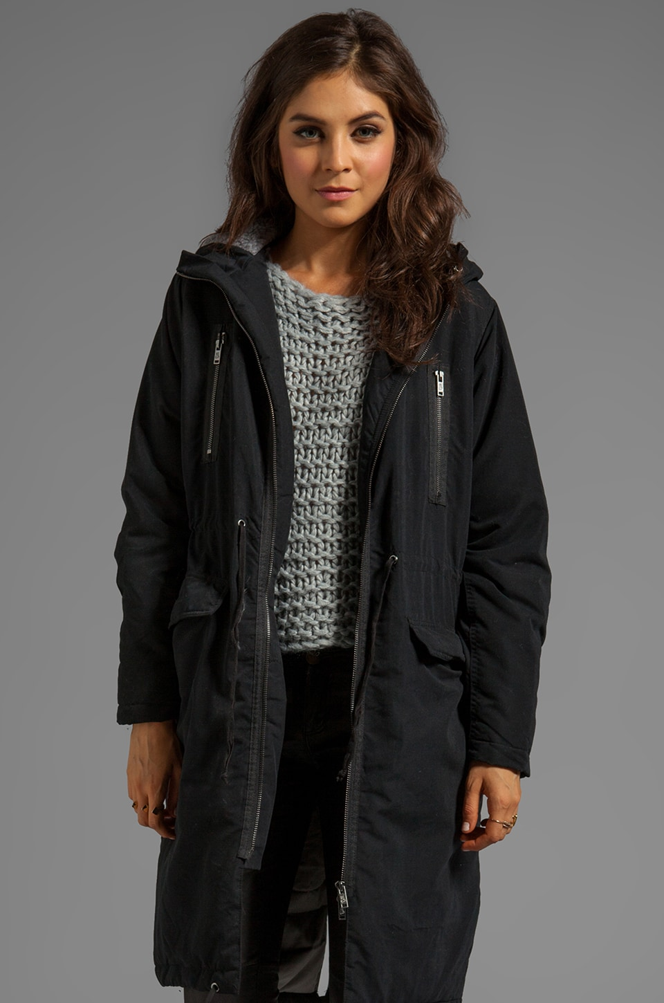 Cheap Monday Prim Parka in Black