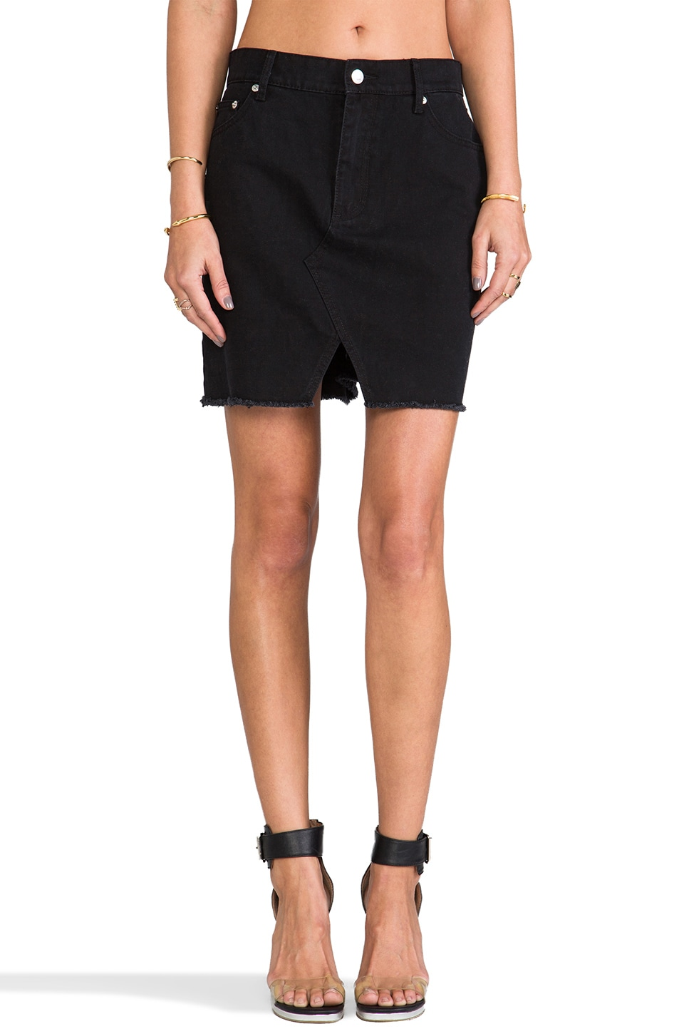 Cheap Monday Heinie Skirt in Black