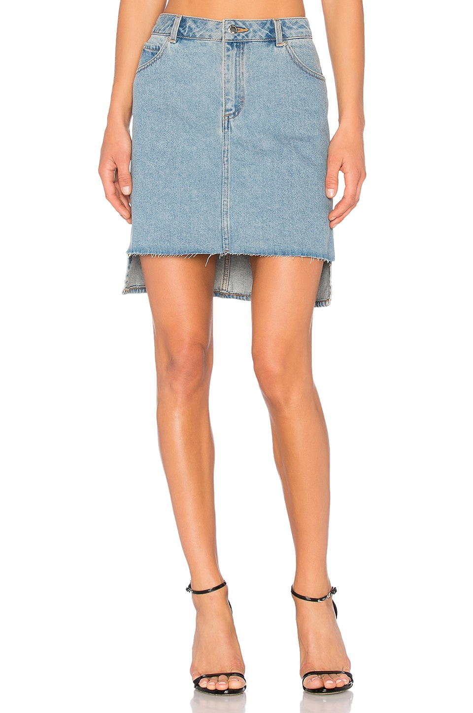 Cheap Monday Warp Skirt in Blue