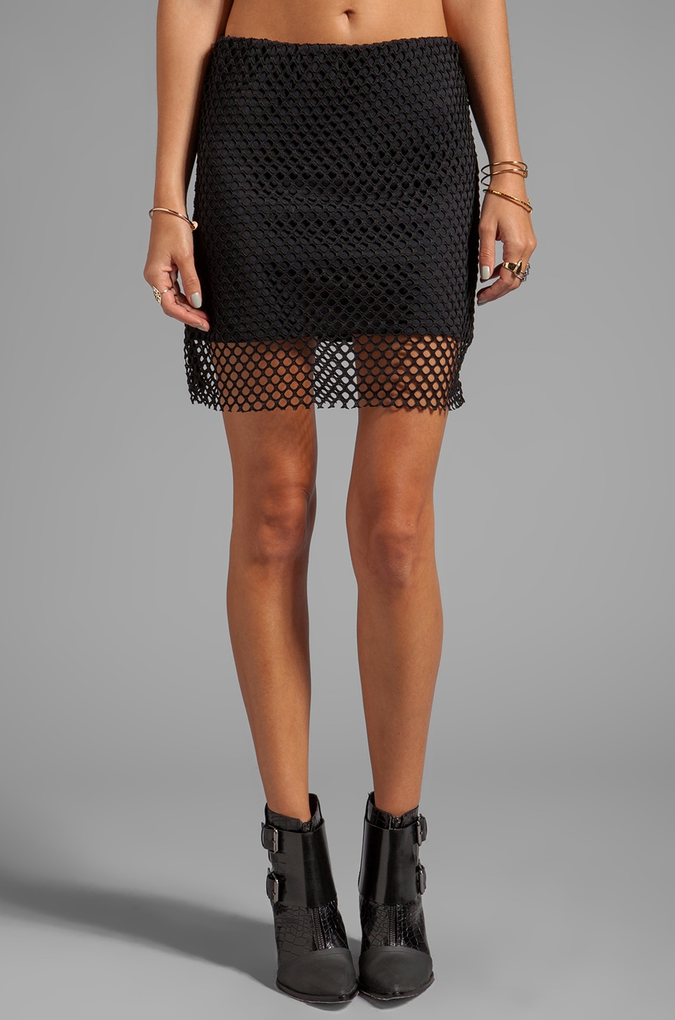Cheap Monday Pixie Skirt in Black