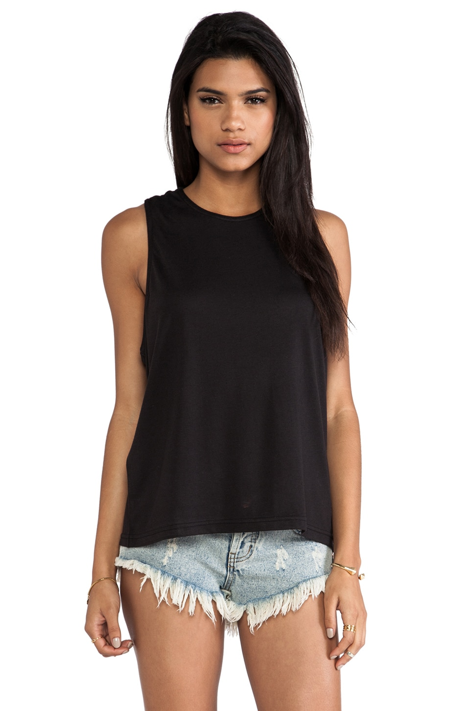 Cheap Monday Randi Tank in Black