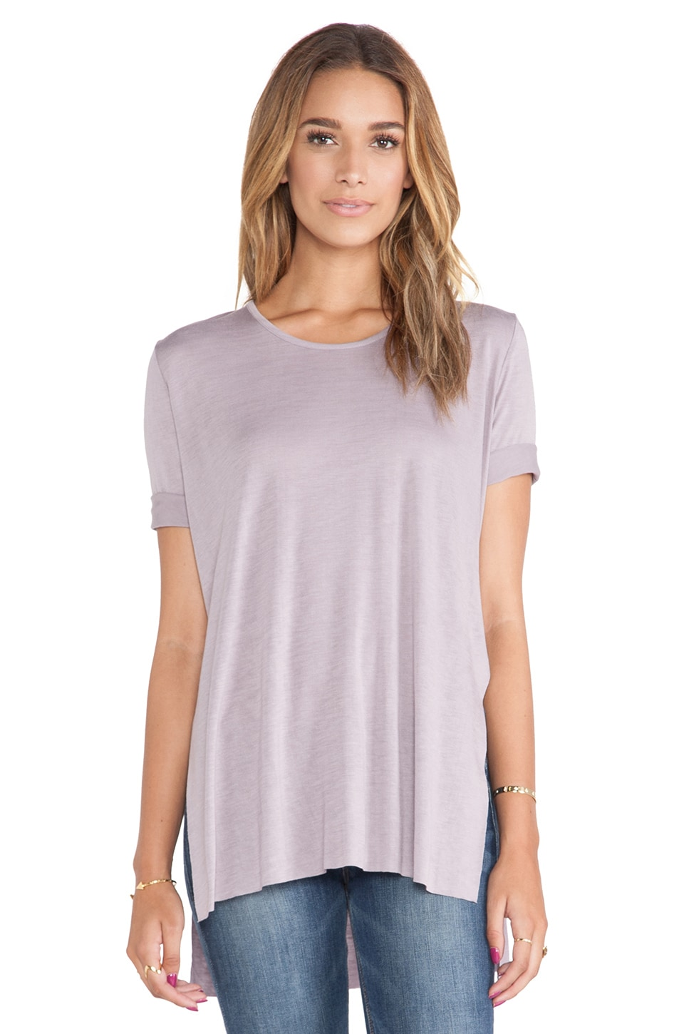 Cheap Monday Slow Tee in Tainted Lilac