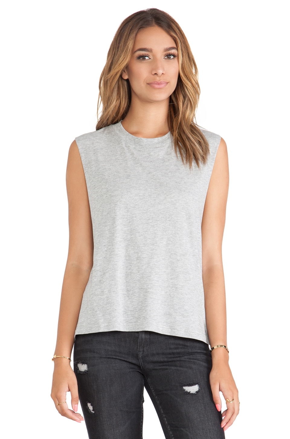 Cheap Monday Morgan Tank in Grey Melange