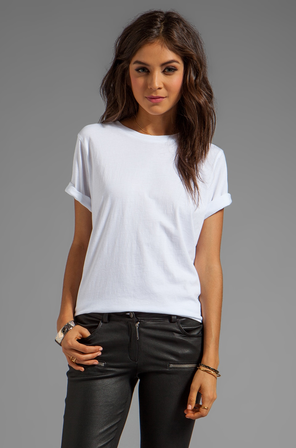 Cheap Monday Perfect Tee in White