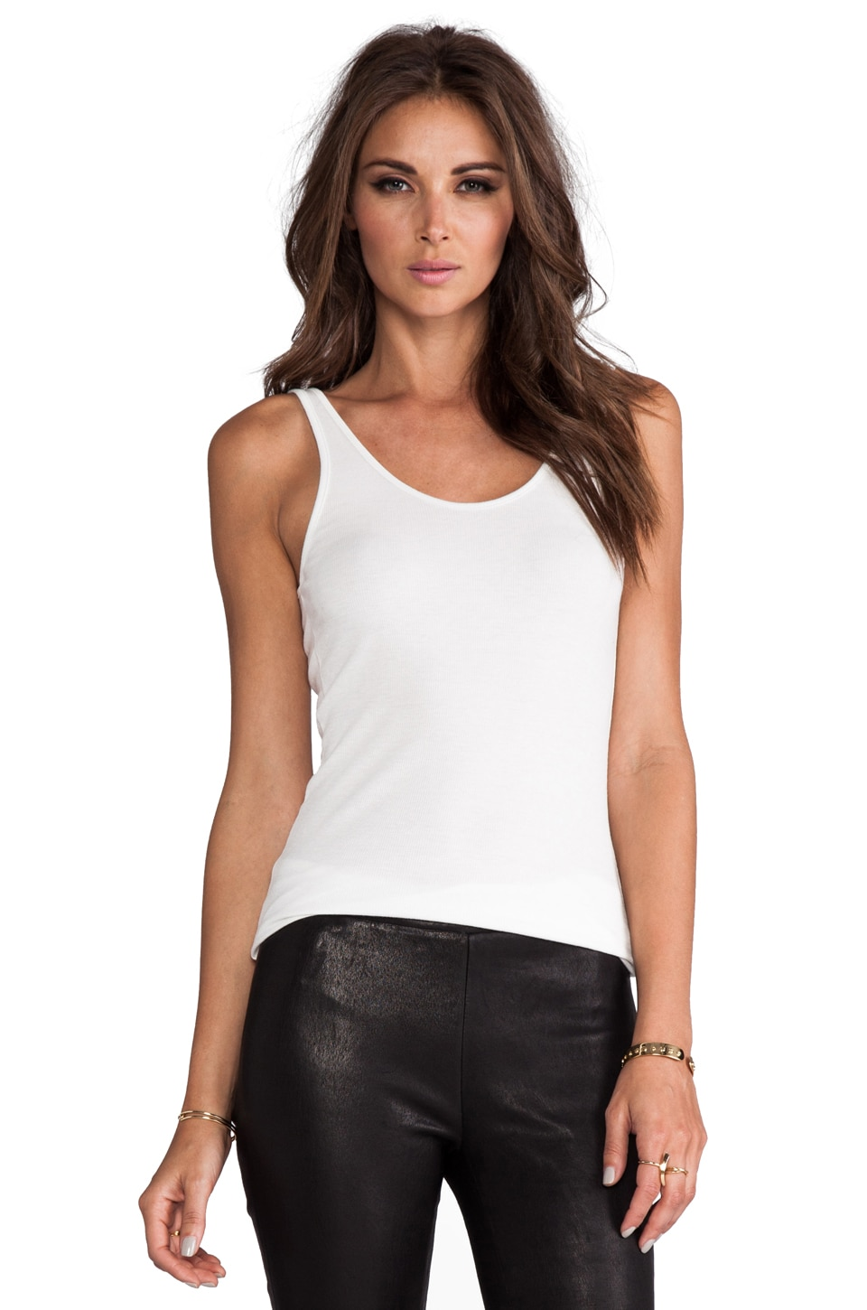 Cheap Monday Donna Tank in White