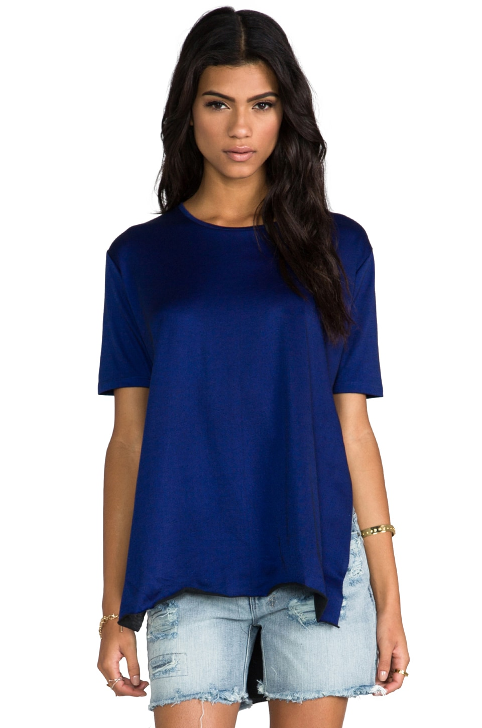 Cheap Monday Slice Super Nice Top in Flight Blue