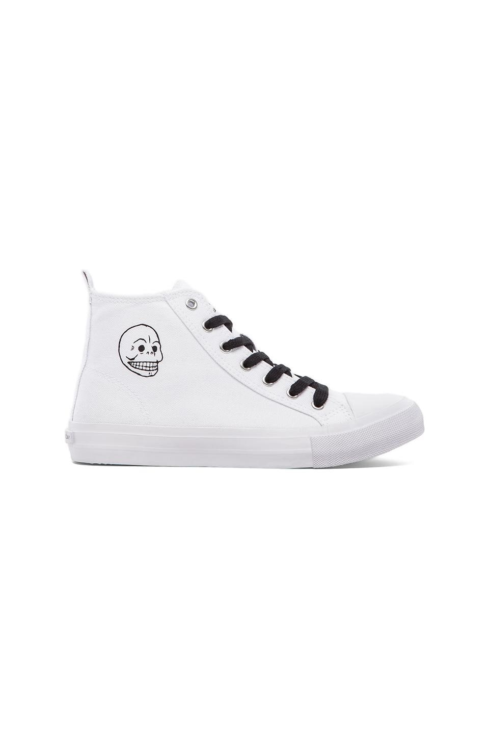 Cheap Monday Base High Top in White