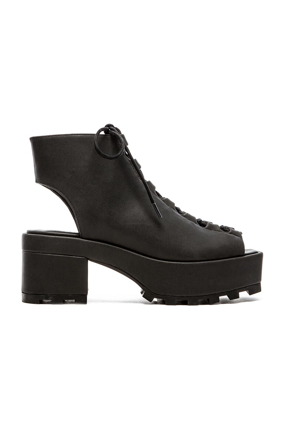 Cheap Monday Trapped Lace Up Heel in Black