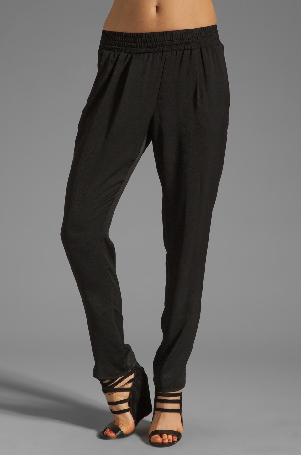Charles Henry Gym Pants in Black