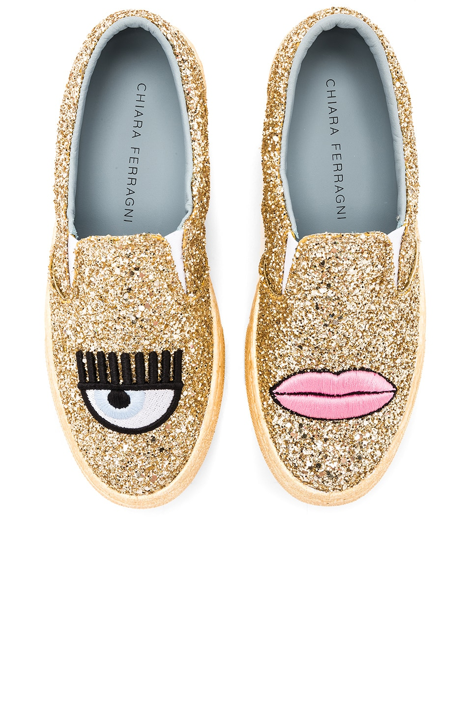Logomania Slip On by Chiara Ferragni