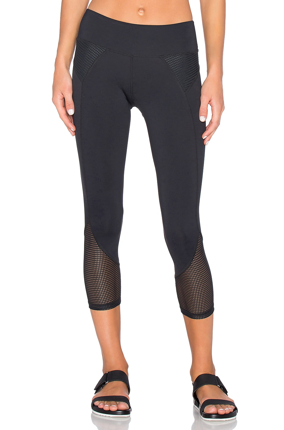 Demi Mesh Panel Legging by CHICHI