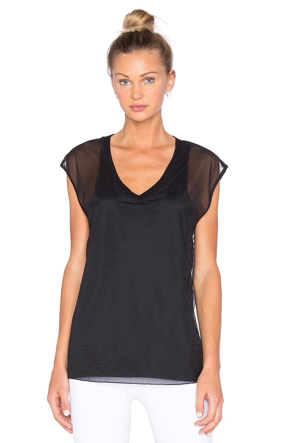 Lauren Mesh Tank by CHICHI