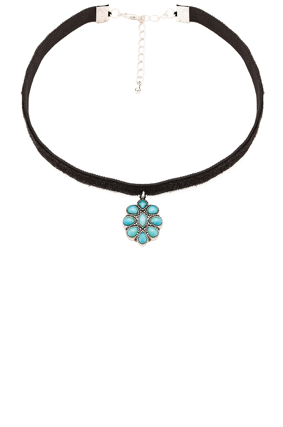 Child of Wild Electric Daze Choker in Turquoise