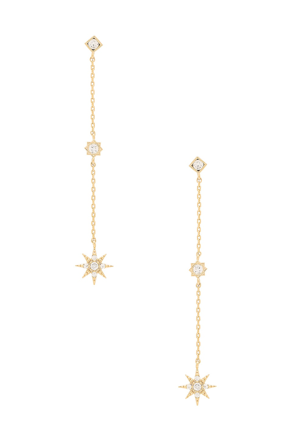 Child of Wild x REVOLVE Starburst Dangle Earrings in Gold