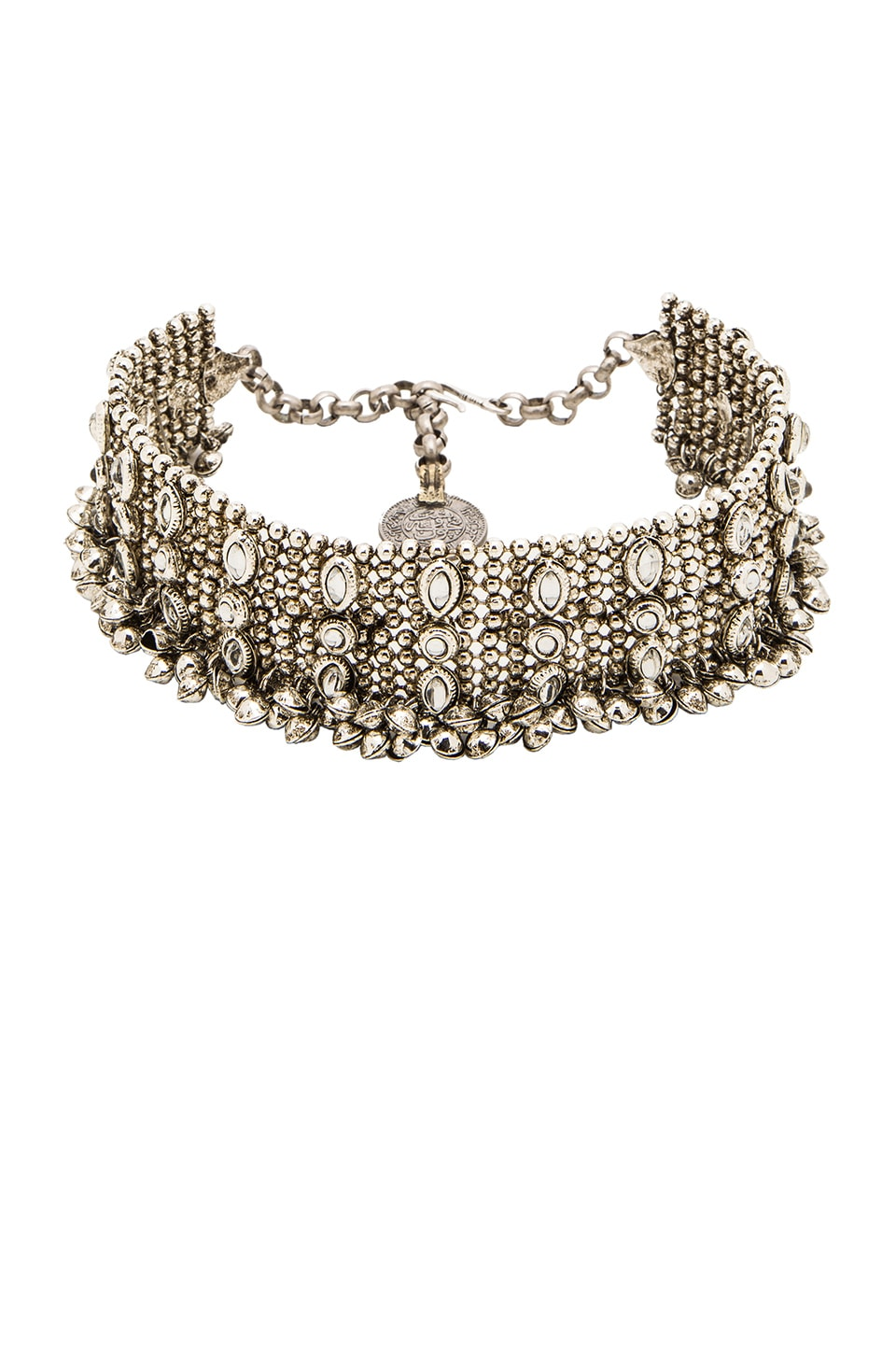 Child of Wild Kholkal Choker in Silver
