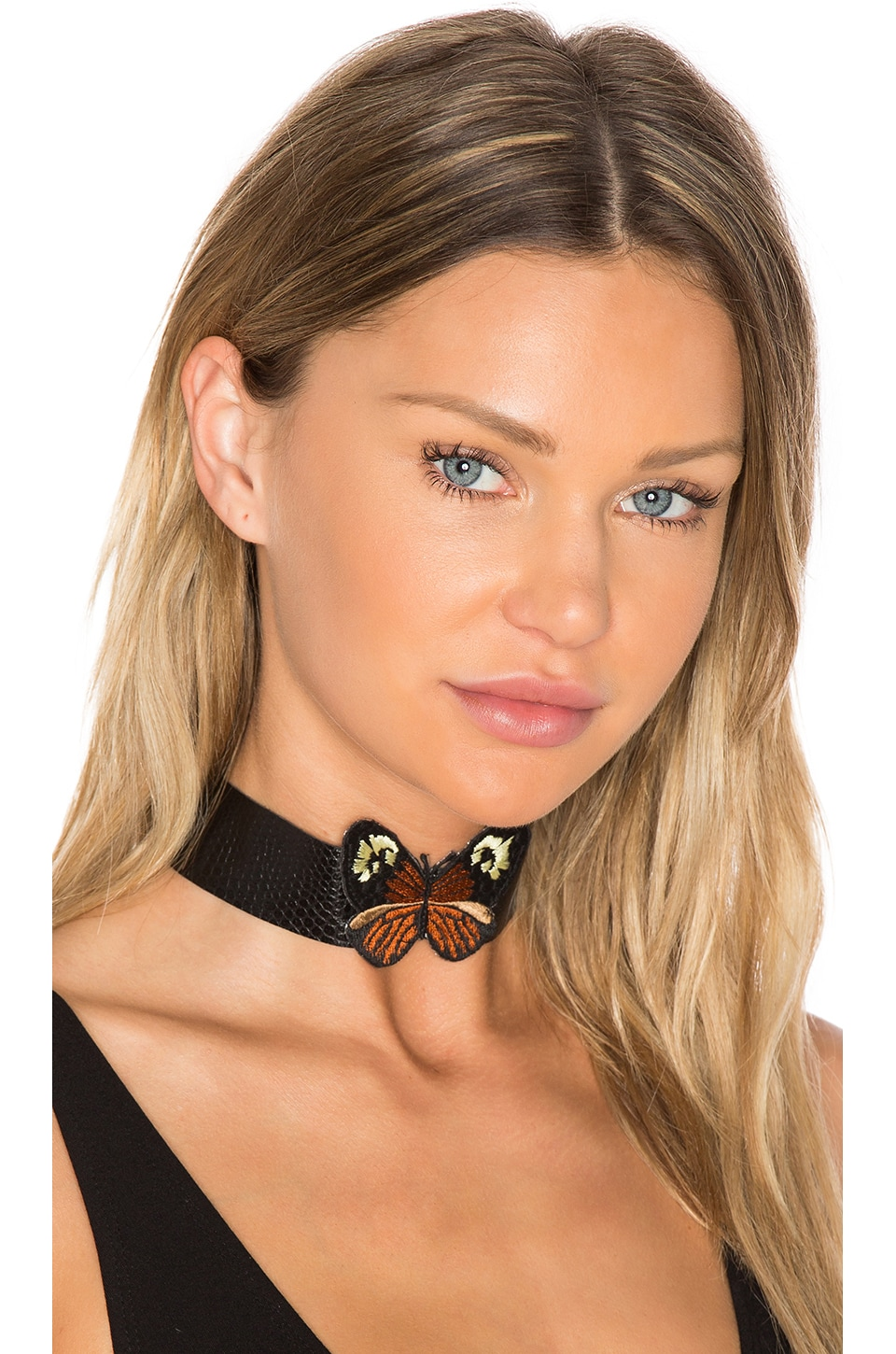 Monarch Leather Choker by Child Of Wild