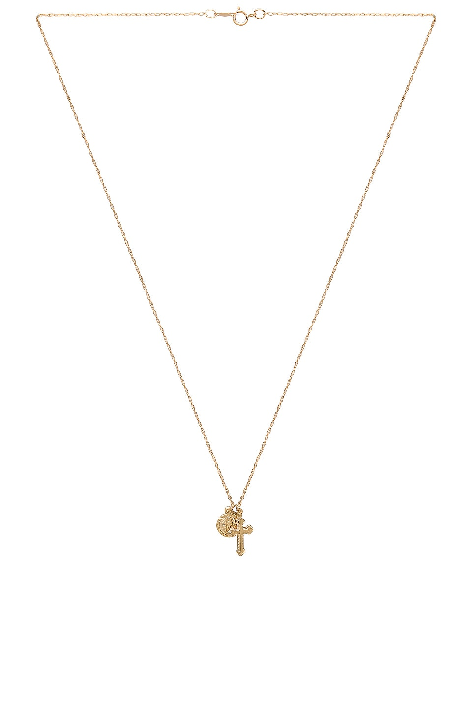 Child of Wild Hail Mary Necklace in Gold