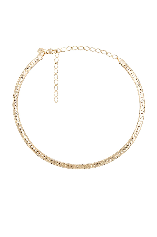 Child of Wild Sicily Herringbone Necklace in Gold