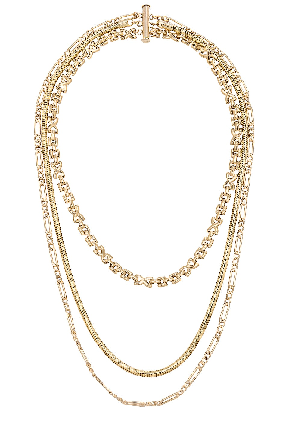 CHILD OF WILD DECO LAYERED NECKLACE