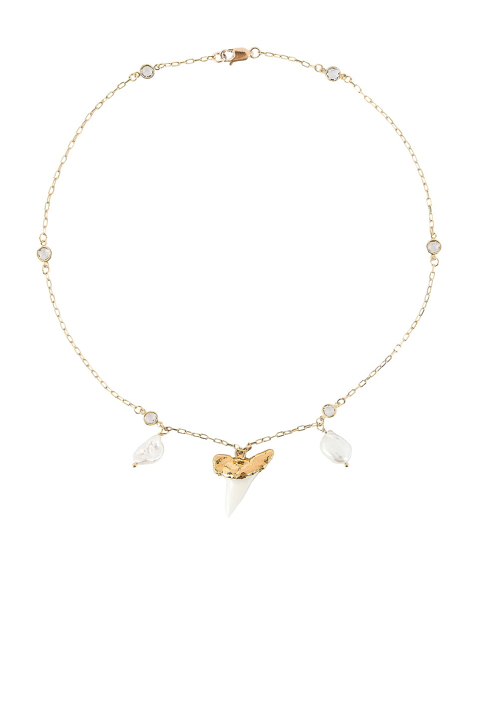 Child of Wild Martello Pearl Necklace in Gold