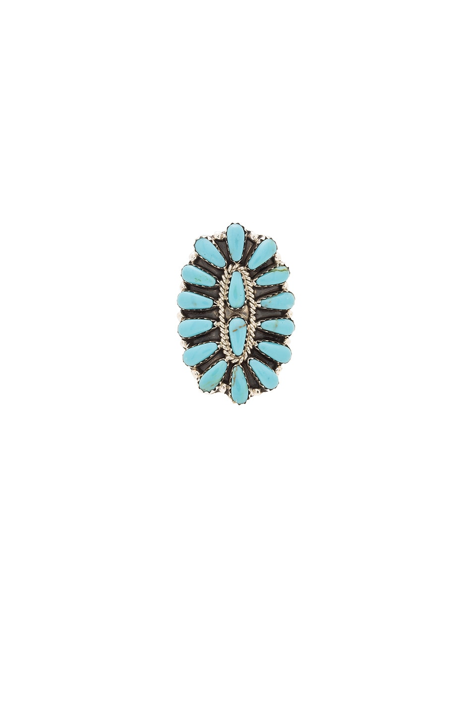 Child of Wild Desert Hills Ring in Turquoise