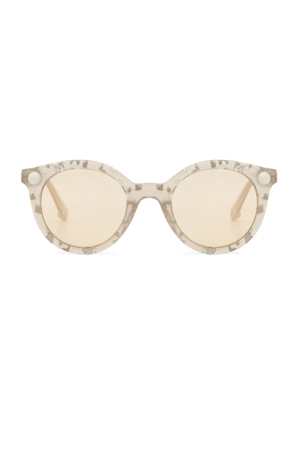 Christopher Kane LUNETTES DE SOLEIL ROUND CAT EYE ACCETATE