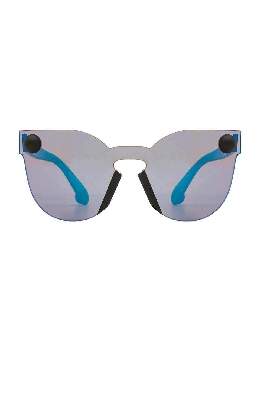 Christopher Kane Mask Frame in Blue & Blue