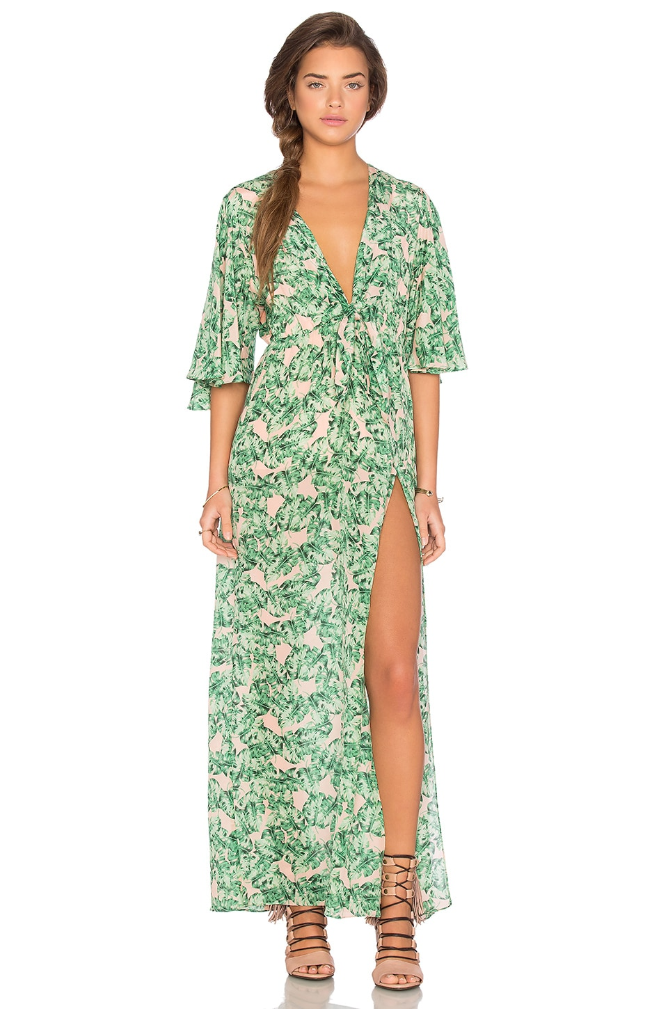Chloe Oliver Luxxe Life Maxi Dress in Coco Cabana