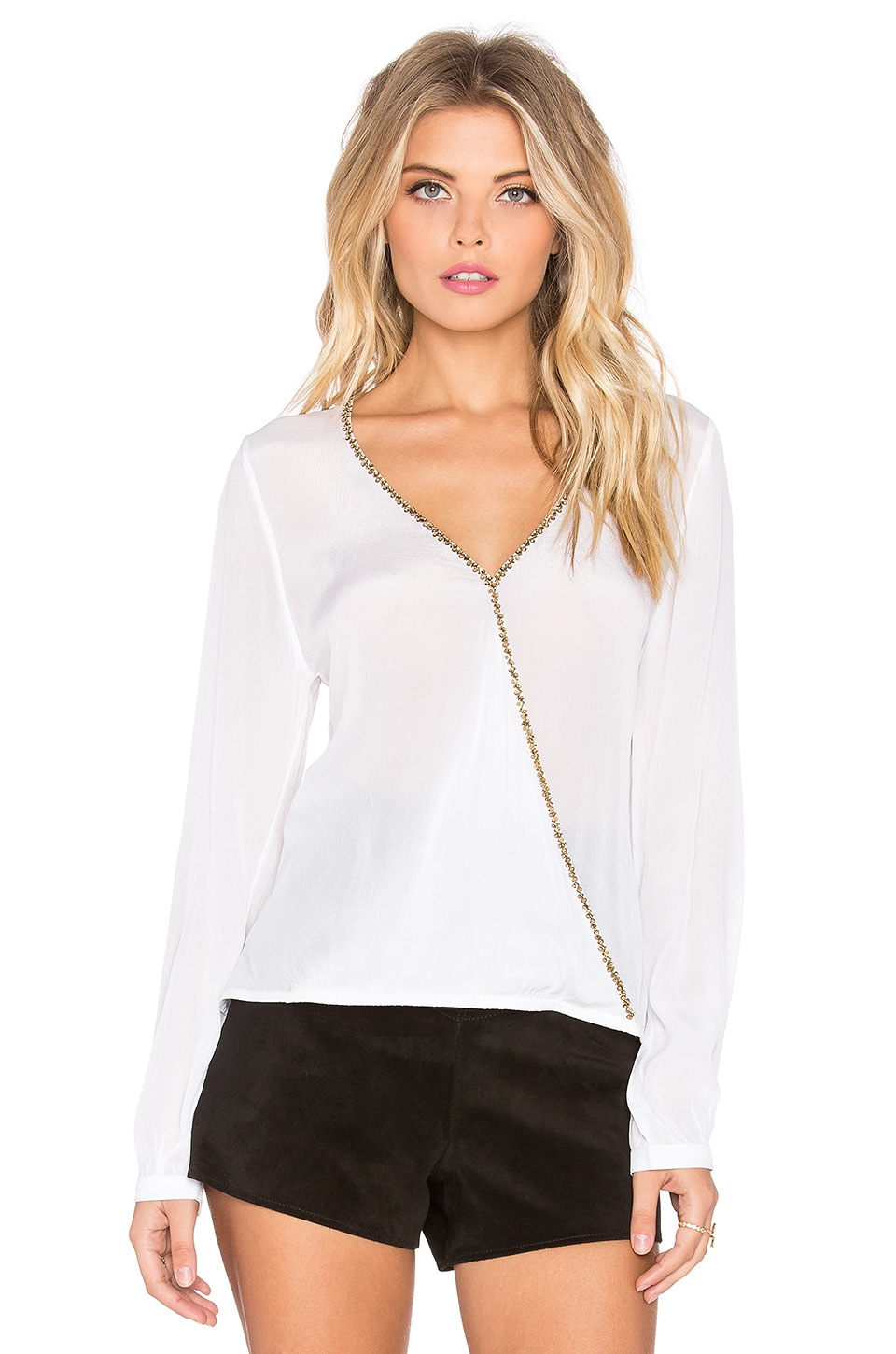 The A Fine Romance Top at Revolve Clothing