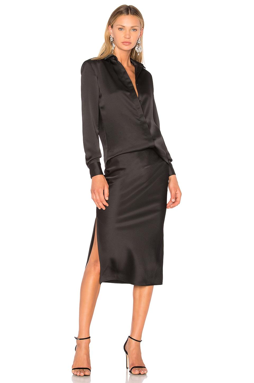 Bias Shirt & Skirt Dress by Christopher Esber