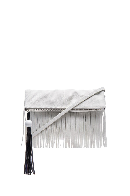 Circus by Sam Edelman Finn Crossbody Bag in White & Black