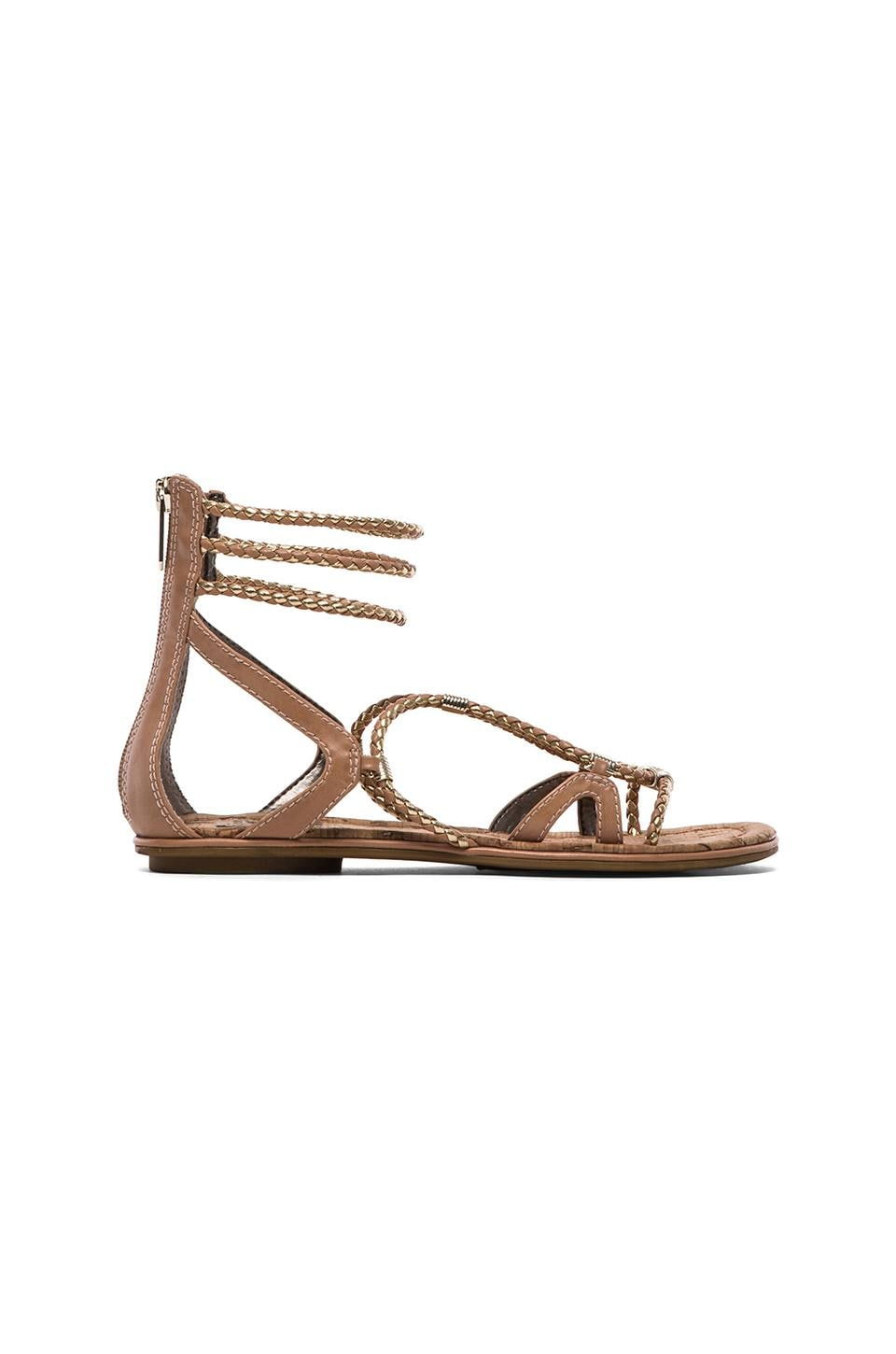 Circus by Sam Edelman Sandria Sandal in Natural & Gold
