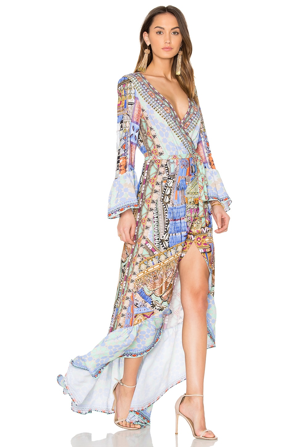 Camilla Wrap Dress in Go Your Own Way