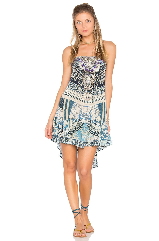 A Line Frill Dress by Camilla