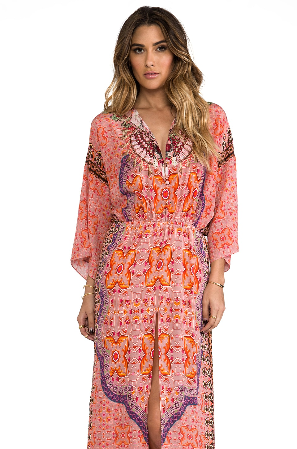 Camilla Portable Paradises Split Pocket Dress in Tabriz