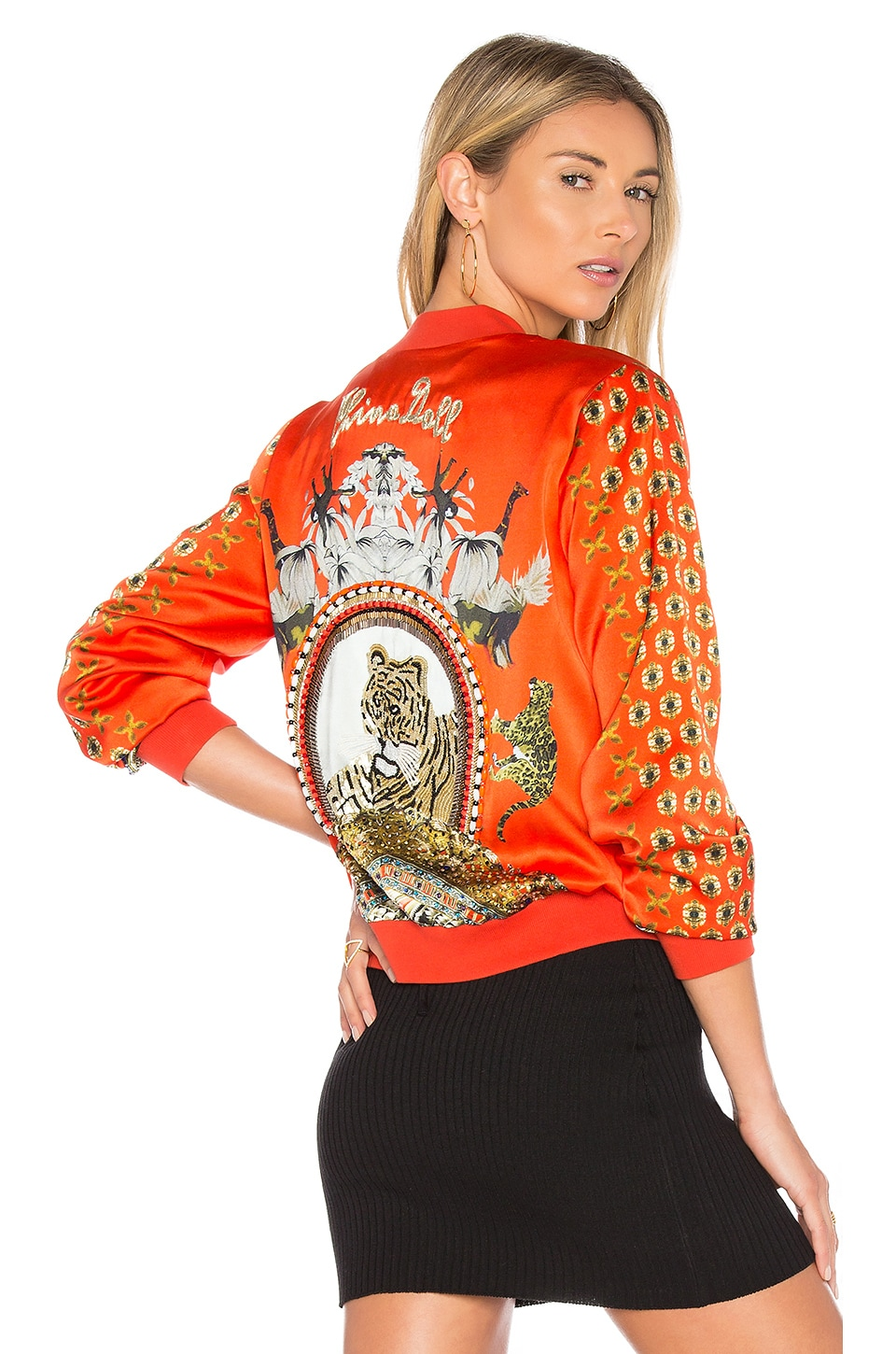 Camilla Bomber Jacket in Hangzhou Hollywood