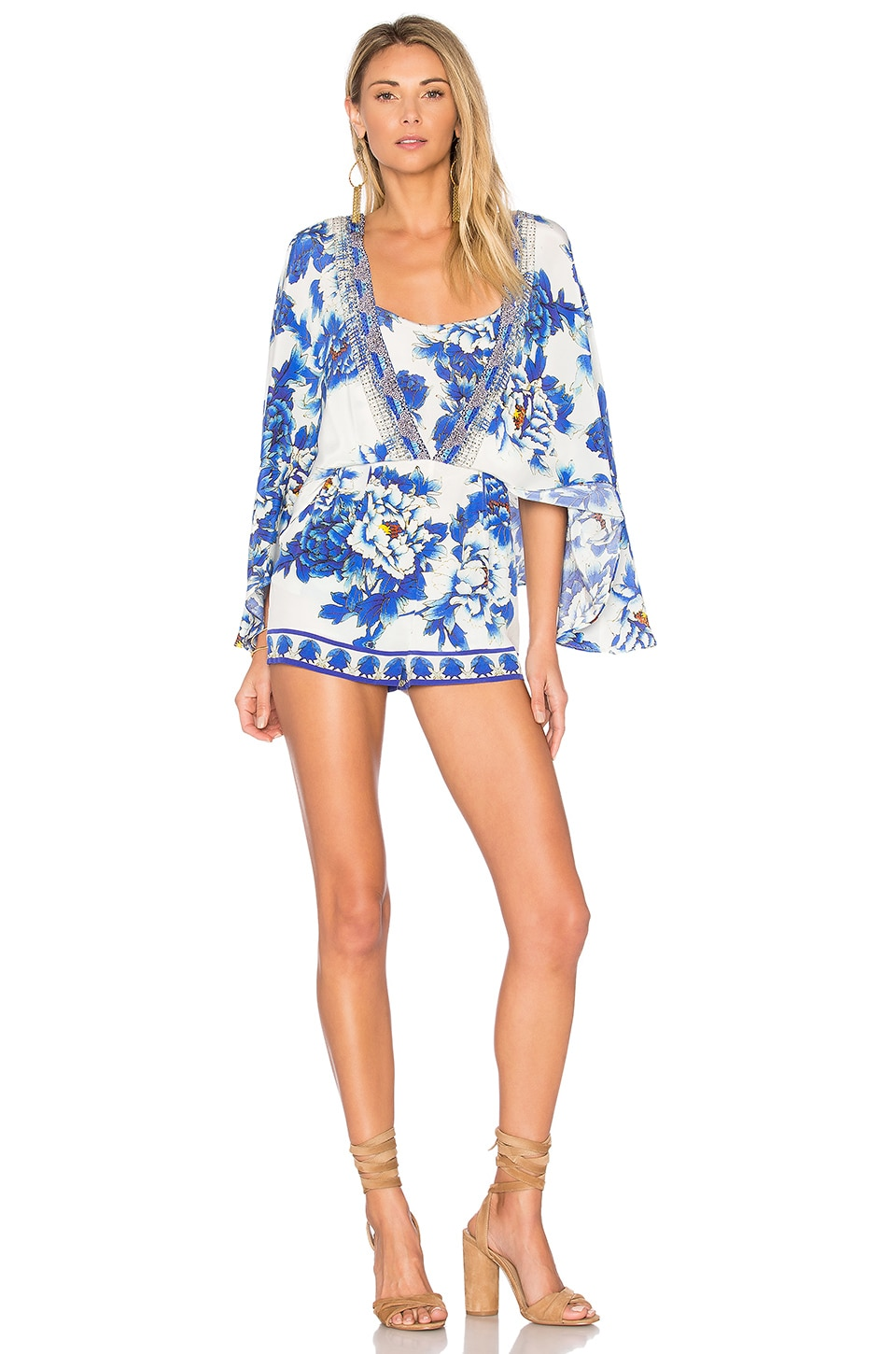 Cape Playsuit by Camilla