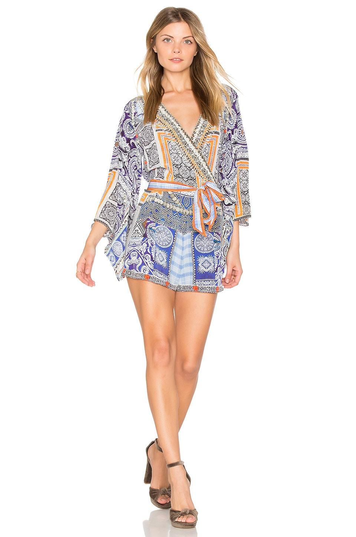 Kimono Sleeve Romper by Camilla