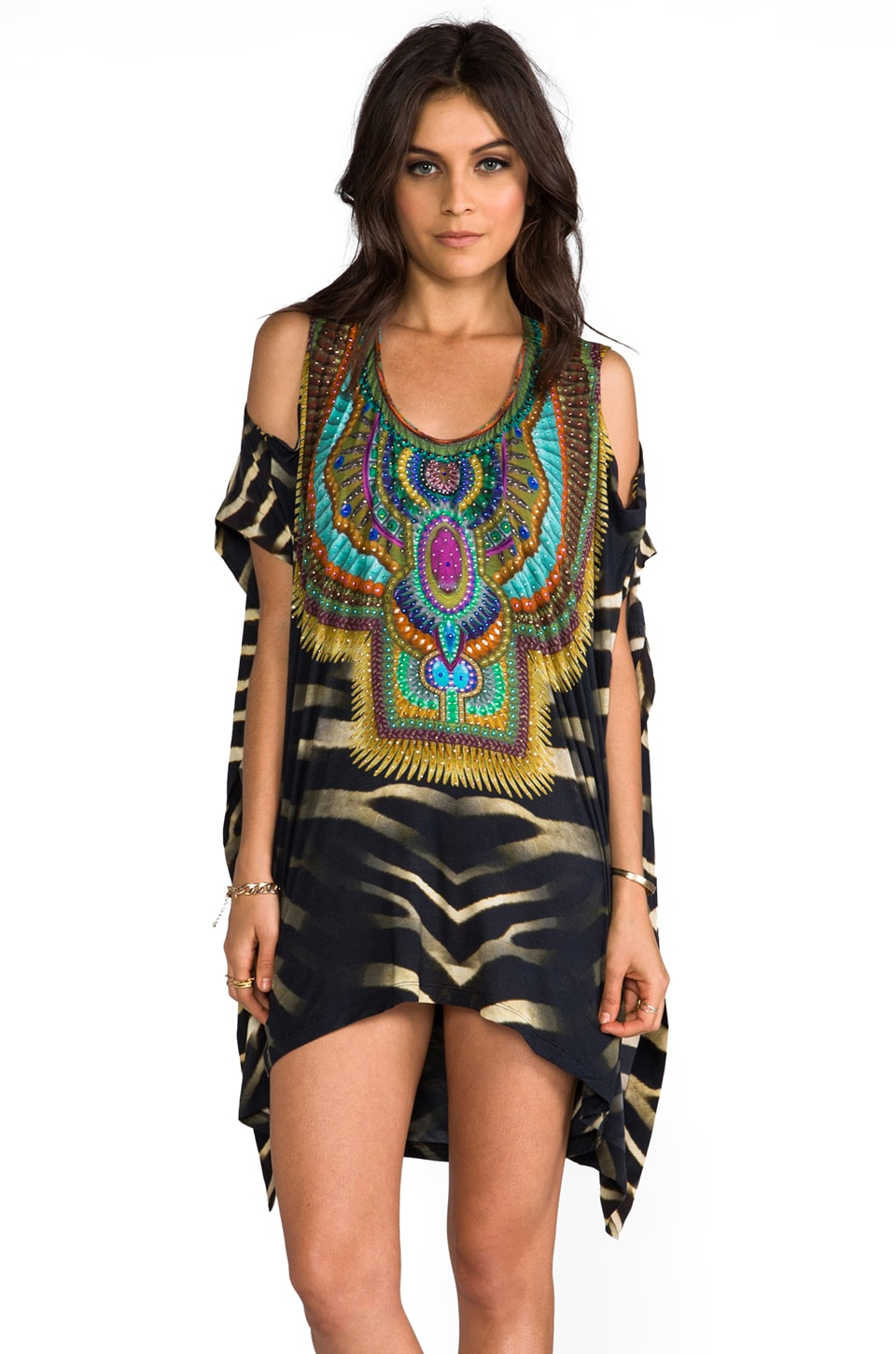 Camilla Animism Split Arm Tunic in Bakora