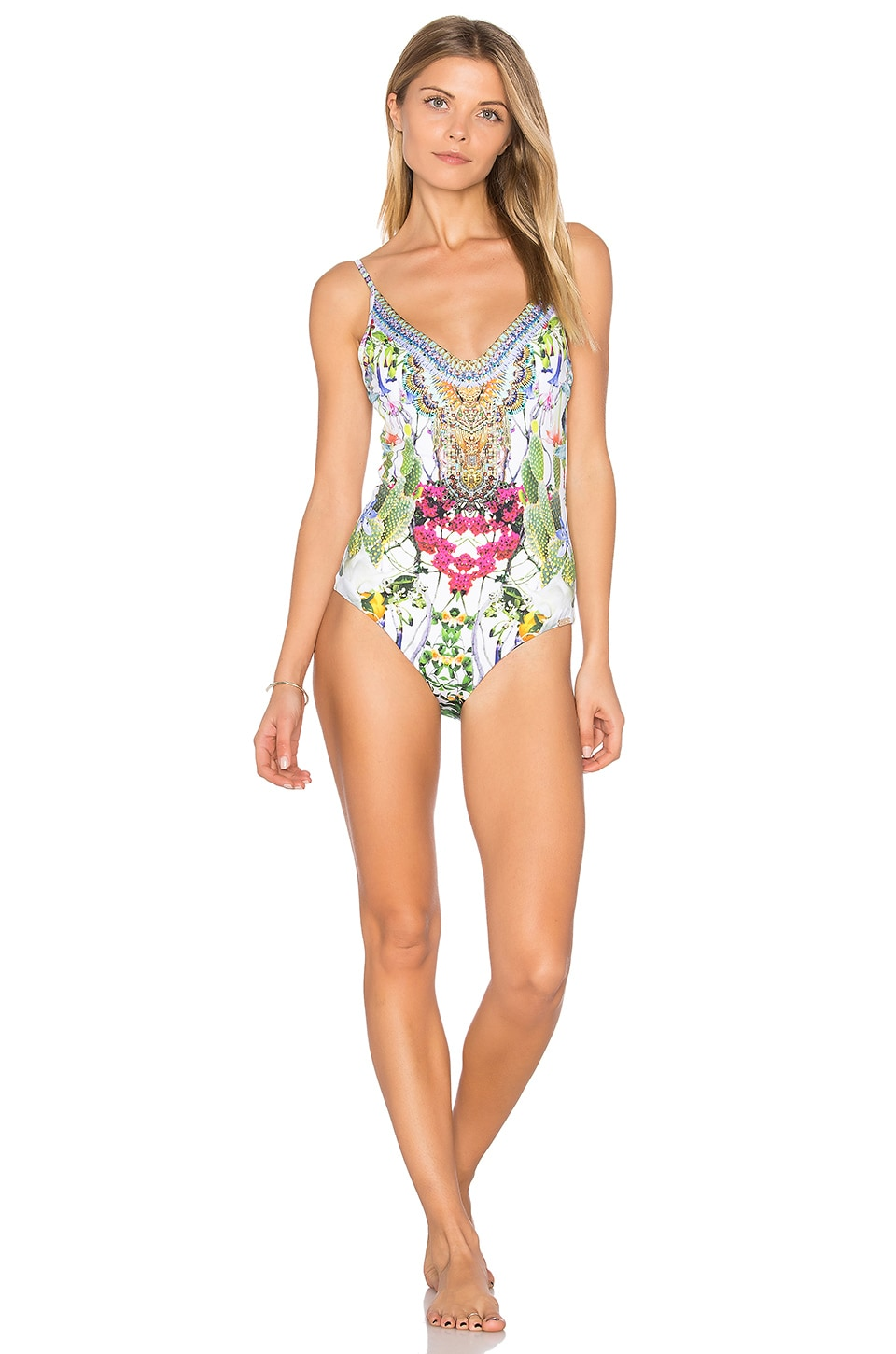 Scoop Back One Piece by Camilla