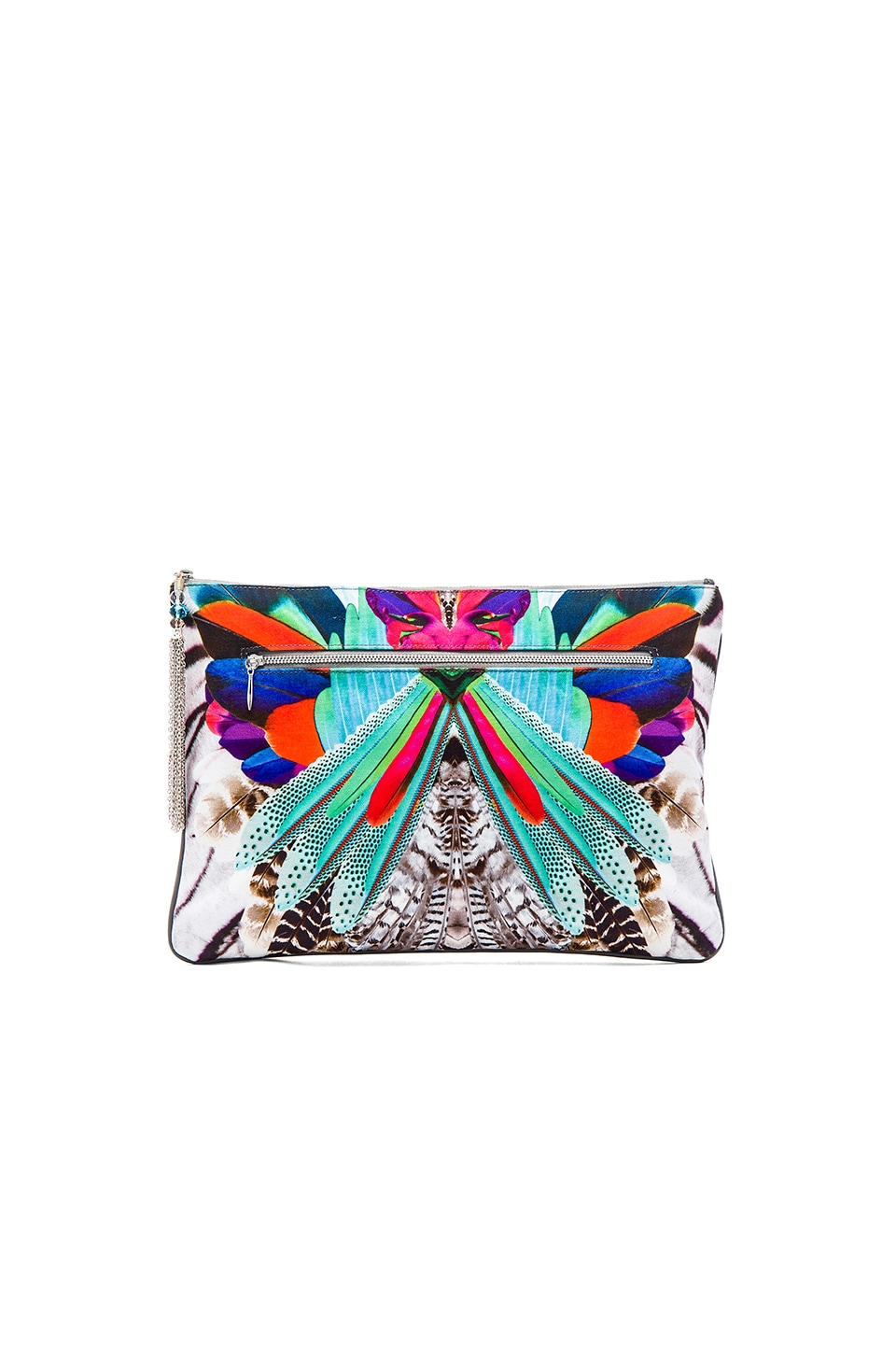 Camilla Large Canvas Clutch in Soaring